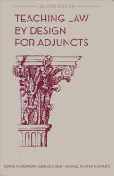 Teaching Law by Design for Adjuncts