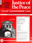 justice of the peace local government law