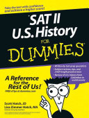 SAT II U S  history for dummies