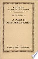 La poesia di Dante Gabriele Rossetti