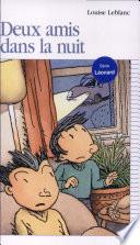 illustration du livre Deux amis dans la nuit