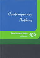 Contemporary Authors New Revision Series On Writers Contemporary Authors? New Revision Series Brings