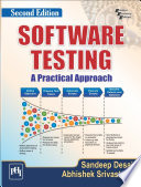 SOFTWARE TESTING   A Practical Approach