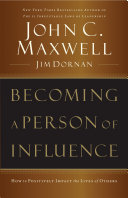 Becoming a Person of Influence Book