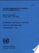 Economic and Social Council Official Records 2004