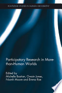 Participatory Research in More than Human Worlds