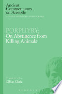 Porphyry  On Abstinence from Killing Animals