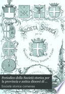 Periodico della Societ   storica per la provincia e antica diocesi di Como