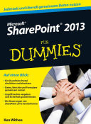 Microsoft SharePoint 2013 f  r Dummies