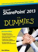 Microsoft SharePoint 2013 für Dummies
