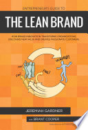 Entrepreneur s Guide To The Lean Brand