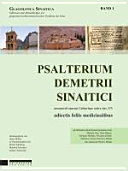 Psalterium Demetrii Sinaitici