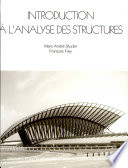 Introduction    l analyse des structures