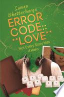 ERROR CODE      LOVE    Book PDF