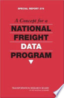 A Concept for a National Freight Data Program
