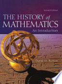 The History of Mathematics  An Introduction