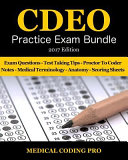 CDEO Practice Exam Bundle   2017 Edition
