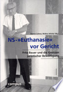 """NS-""""Euthanasie"""" vor Gericht"""