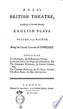 Bell's British Theatre, Consisting Of The Most Esteemed English Plays. Volume The First [- Twenty-first] : ...
