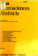 C S A  Neurosciences Abstracts
