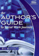 Ebook An Author's Guide to Social Work Journals Epub Ann Augustine Abbott Apps Read Mobile