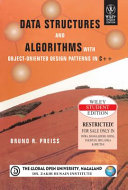 DATA STRUCTURES AND ALGORITHMS WITH OBJECT- ORIENTED DESIGN PATTERNS IN C++