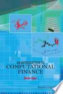 An Introduction to Computational Finance