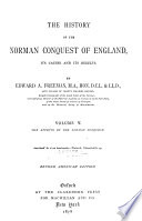 The History of the Norman Conquest of England Book PDF