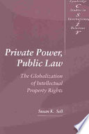 Private Power  Public Law