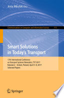Smart Solutions in Today   s Transport
