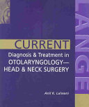 Current Diagnosis Treatment In Otolaryngology