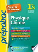 Physique Chimie 1re S   Pr  pabac Cours   entra  nement