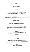 download ebook the history of the church of christ pdf epub