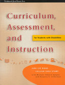 Curriculum  Assessment  and Instruction for Students with Disabilities