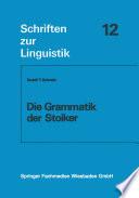 Die Grammatik der Stoiker