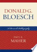 Best Donald G. Bloesch