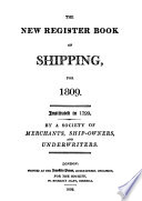 The Register of Shipping ...