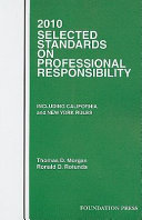Selected Standards on Professional Responsibility