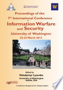 ICIW2012 Proceedings of the 7th International Conference on Information Warfare and Security