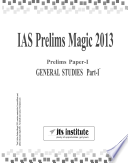 IAS Prelims Magic 2013  Paper 1