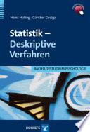 Statistik - Deskriptive Verfahren
