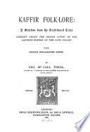 Kaffir Folk lore