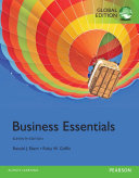 Business Essentials  Global Edition
