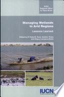 Managing Wetlands in Arid Regions
