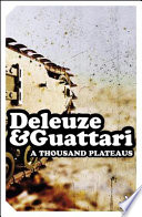 EPZ Thousand Plateaus Deleuze 1925 1995 Was Professor Of Philosophy