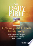 The Daily Bible      in Chronological Order  NIV
