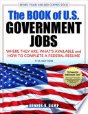Book of US Government Jobs