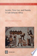 Gender  Time Use  and Poverty in Sub Saharan Africa