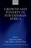 download ebook growth and poverty in sub-saharan africa pdf epub