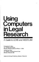 Using Computers in Legal Research